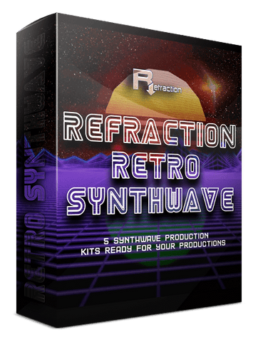 Refraction RETRO SYNTHWAVE