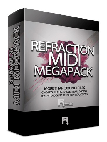 Refraction MIDI MEGAPACK
