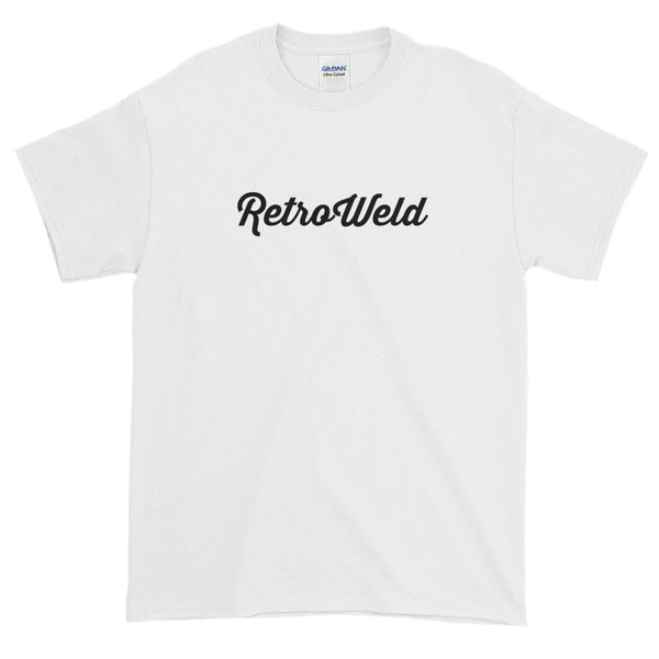 Short-Sleeve T-Shirt - White shirt, black logo
