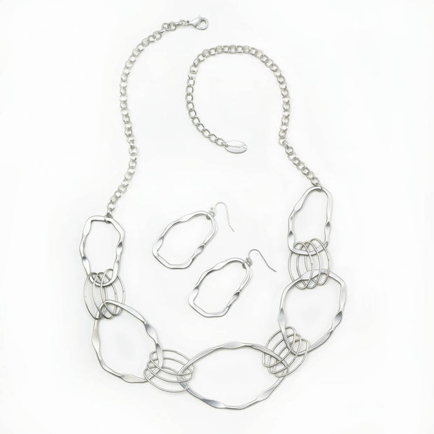 Woven Circles Jewelry Set - The JfJ