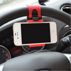 Car Steering wheel phone Universal Mount Holder Stand - The JfJ