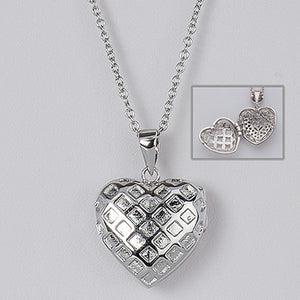 Heart Locket (Sterling Silver) - The JfJ