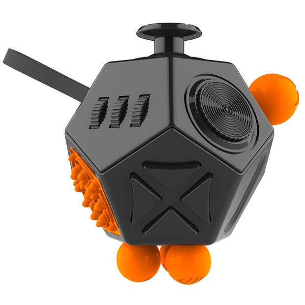 12 Sided Anti-Stress Fidget Cube - The JfJ