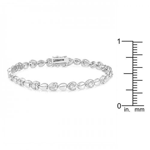 Petite Heart Charm Bracelet - The JfJ