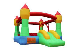 Inflatable Mighty Bounce House with Blower - The JfJ