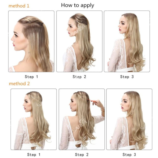 Invisible Halo Hair Extensions - The JfJ
