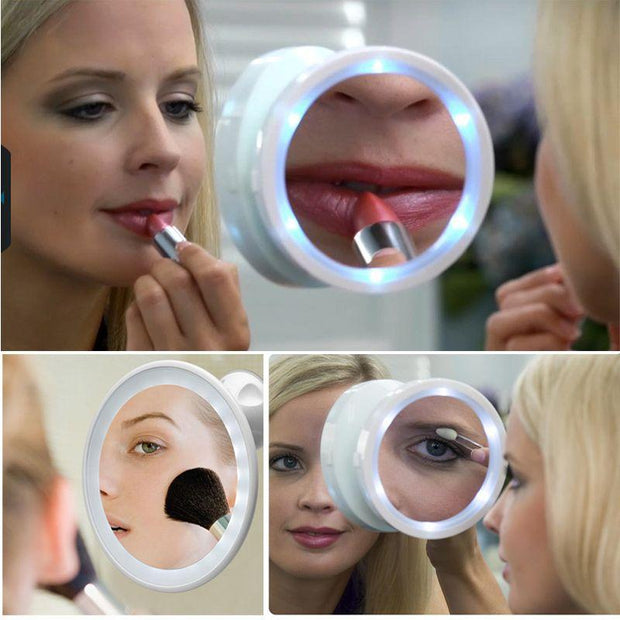 360 LED Magnifying Mirror - The JfJ
