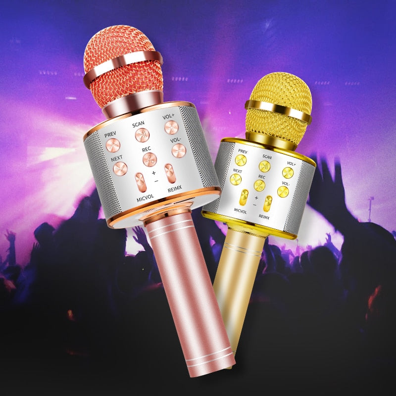 Bluetooth Karaoke Wireless  Microphone - The JfJ