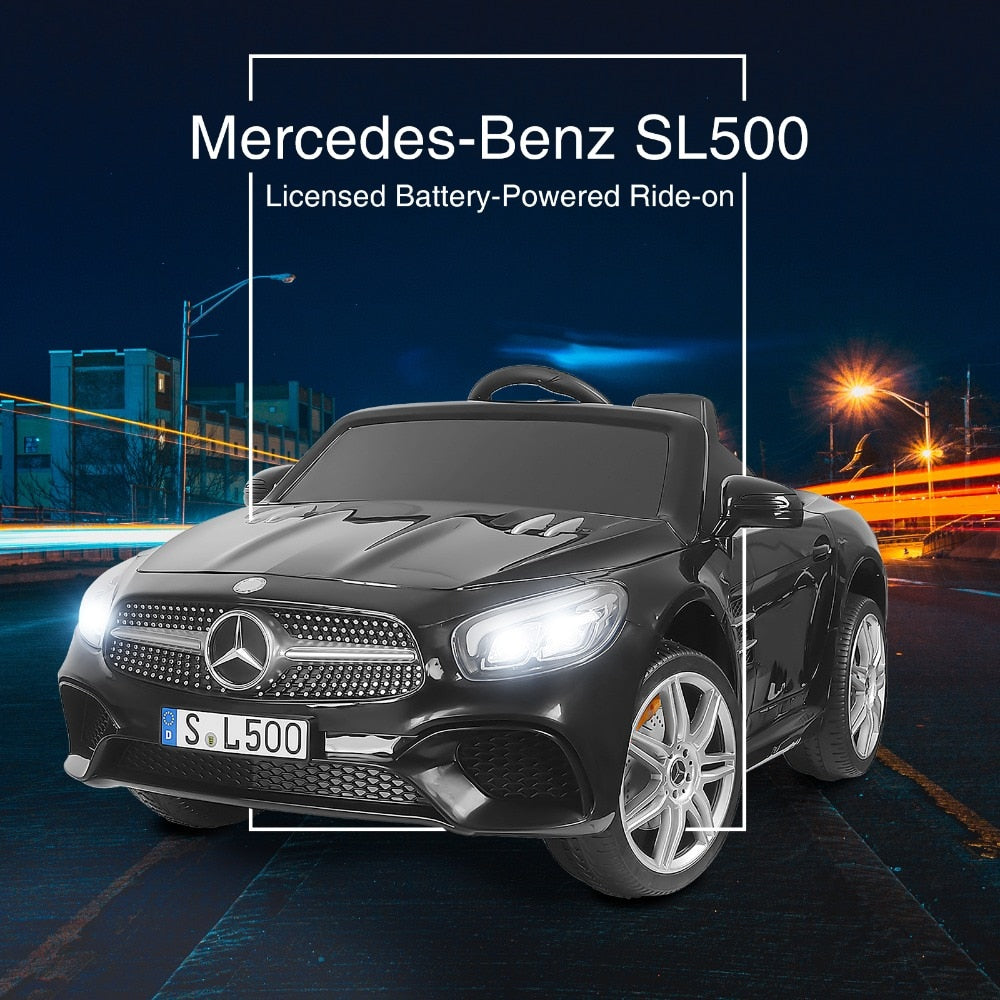 MERCEDES-BENZ S63 KIDS RIDE ON CAR 12V ELECTRIC POWERED WITH REMOTE CONTROL, RADIO & MP3 - The JfJ