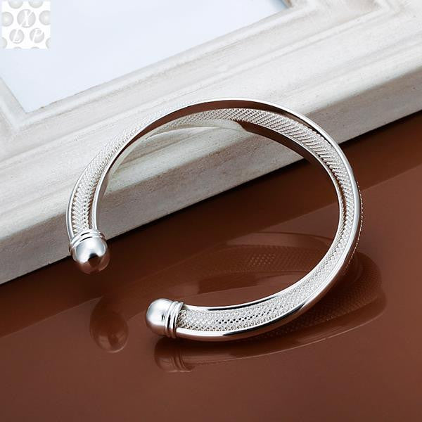 Stamped Silver Plated Bangle(Free Item) - The JfJ