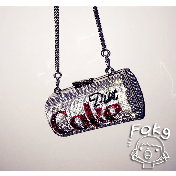 Cola Can Shape Chains Crossbody - The JfJ