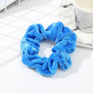 Velvet  Elastic Scrunchies 40pcs - The JfJ