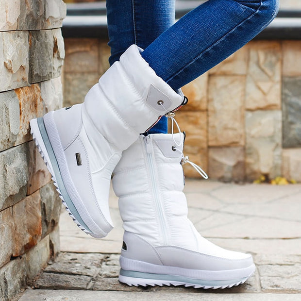 Platform Women Snow Boots - The JfJ