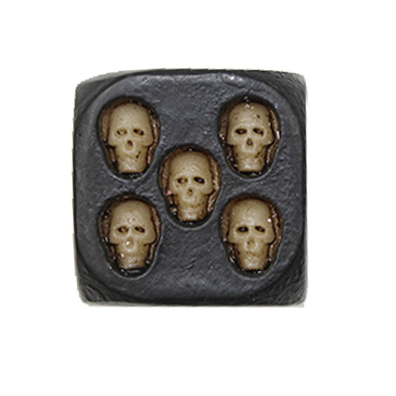 BONES  SKULL DICE (SET OF 5) - The JfJ
