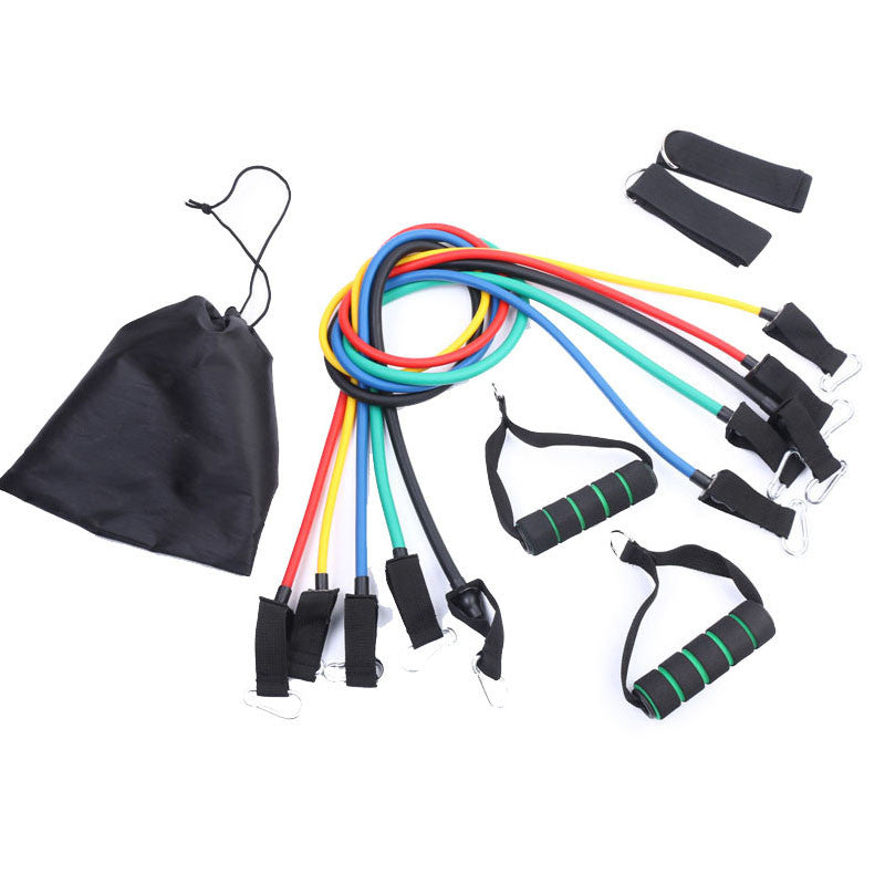 11 IN 1 Pull Rope Sports Resistance Bands - The JfJ