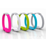 Micro USB Charging Data Sync Cable Bracelet Wrist Band Charger For Mobile Phone