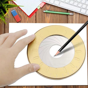 Adjustable Iris Circle Drawing Tool
