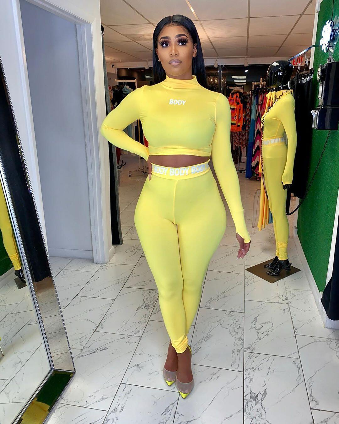 Body Two Piece High Necked Tracksuit