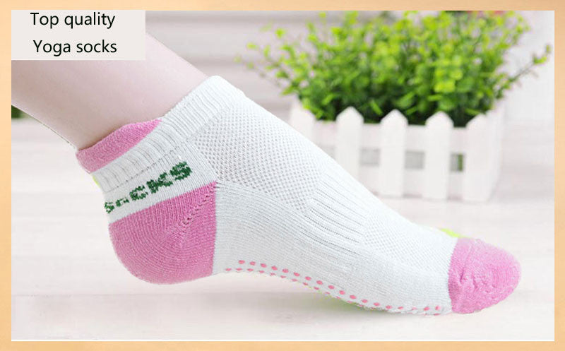 Yoga Socks Anti Slip Rubber Dots Sports(FREE) - The JfJ