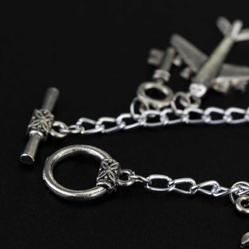 50 Fifty Shades of Grey Charm Bracelet - The JfJ