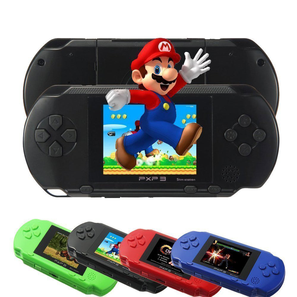 PXP 3 Game Console Handheld Portable 16 Bit Retro 150 Games For Kids High Quality - The JfJ