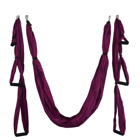 Yoga Trapeze Swing - Great for Back Pain & Strength - The JfJ