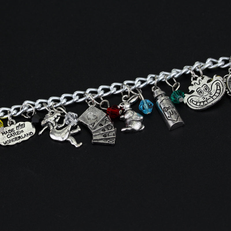 Alice In Wonderland Charm Bracelet - The JfJ