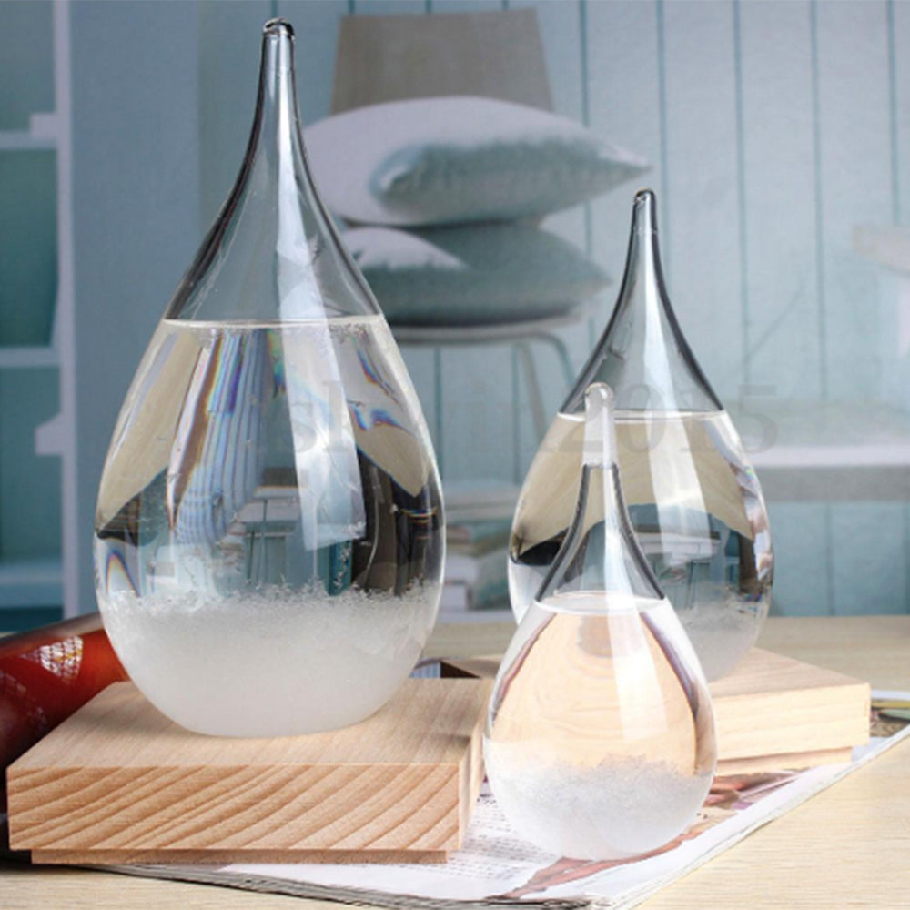 Droplet Storm Glass Water Desktop - The JfJ
