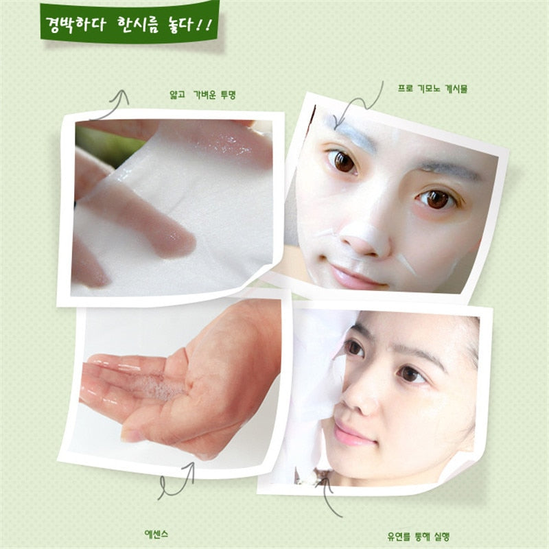 Plant Facial Mask Moisturizing Oil Control Blackhead - The JfJ