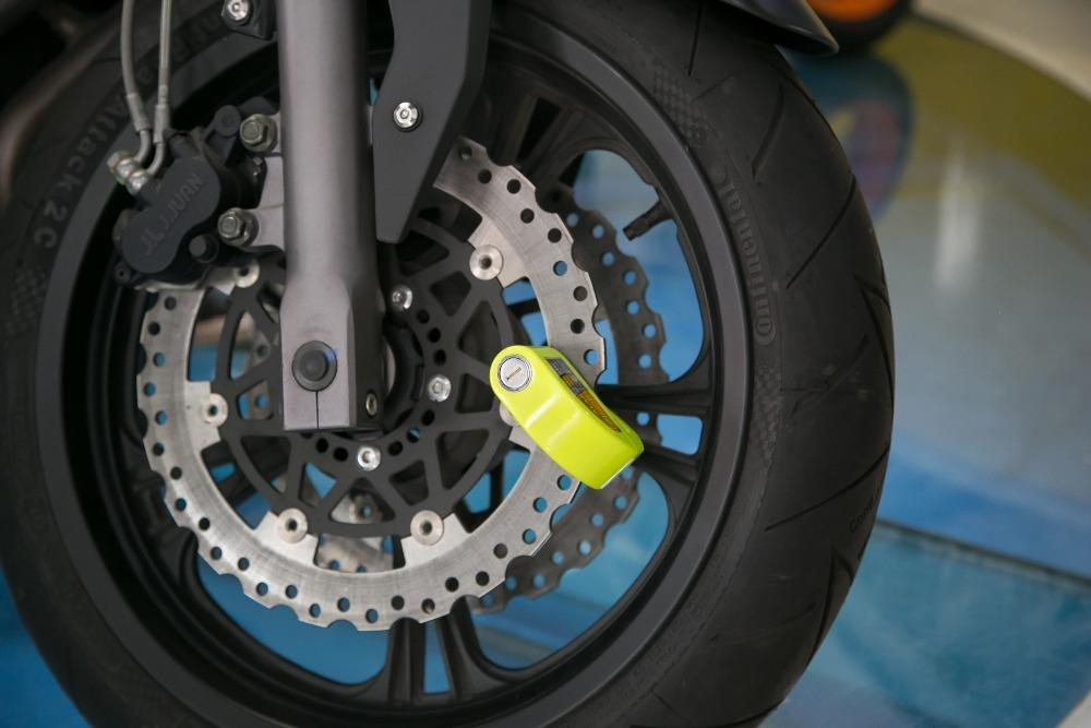 MOTORCYCLE DISC LOCK ALARM - The JfJ