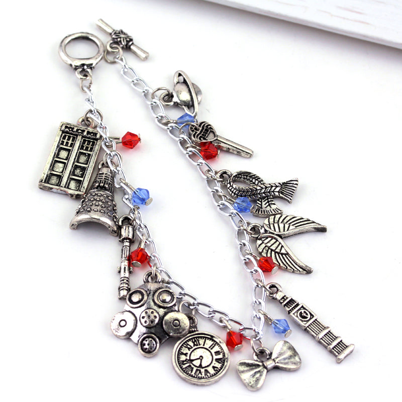 Doctor Who  Charm Bracelet - The JfJ