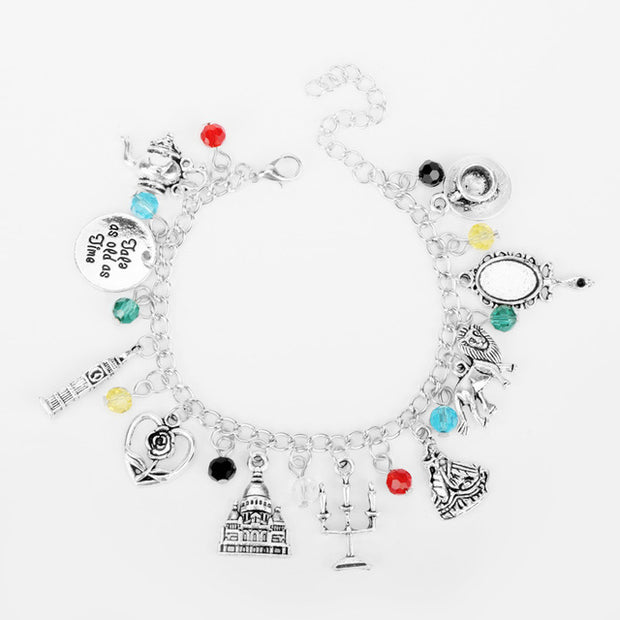 Beauty and the Beast Charm Bracelet - The JfJ