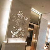 Elegant Flower Wall Decoration  Stickers - The JfJ