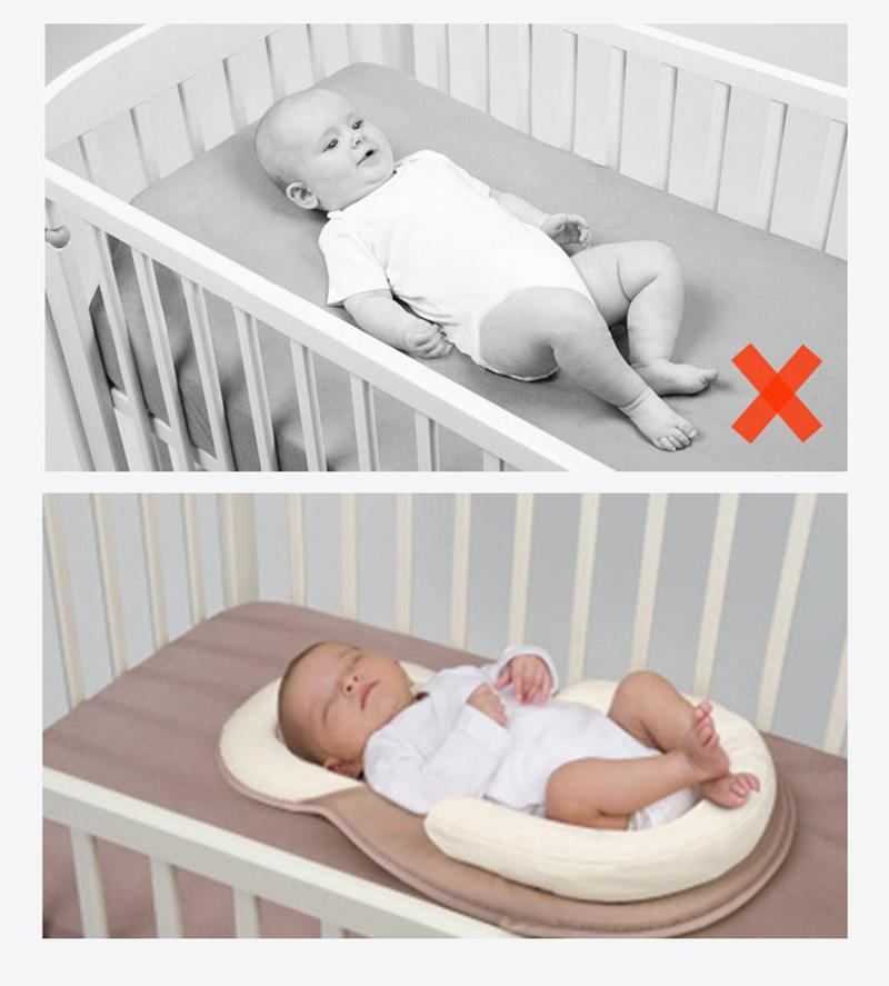 PORTABLE BABY BED - ANTI ROLLOVER - The JfJ