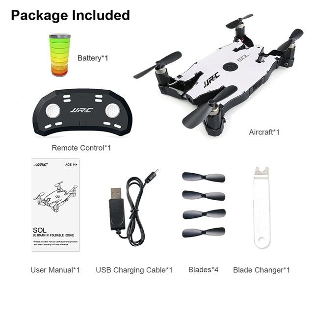 JJRC Foldable Pocket Drone - The JfJ