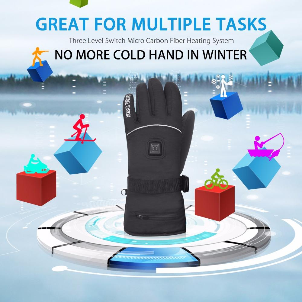 Heated Winter Gloves - The JfJ