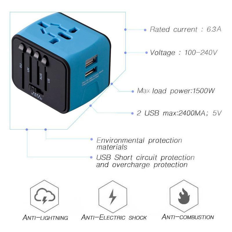All-In-One Universal Adapter - The JfJ