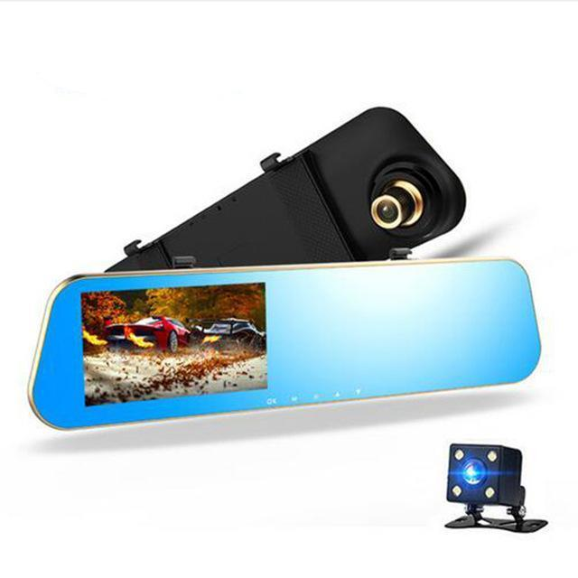 REAR VIEW MIRROR W/ DASHCAM AND BACK CAM - The JfJ