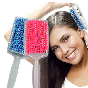 Quick-Dry Microfiber Hair Brush - The JfJ