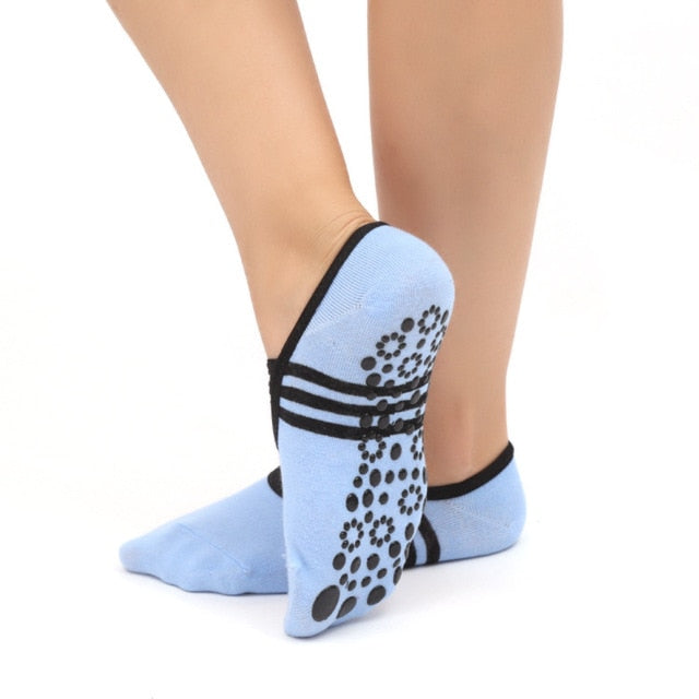 Anti Slip Bandage Cotton Sports Yoga Ladies Ventilation Pilates Ballet Socks - The JfJ