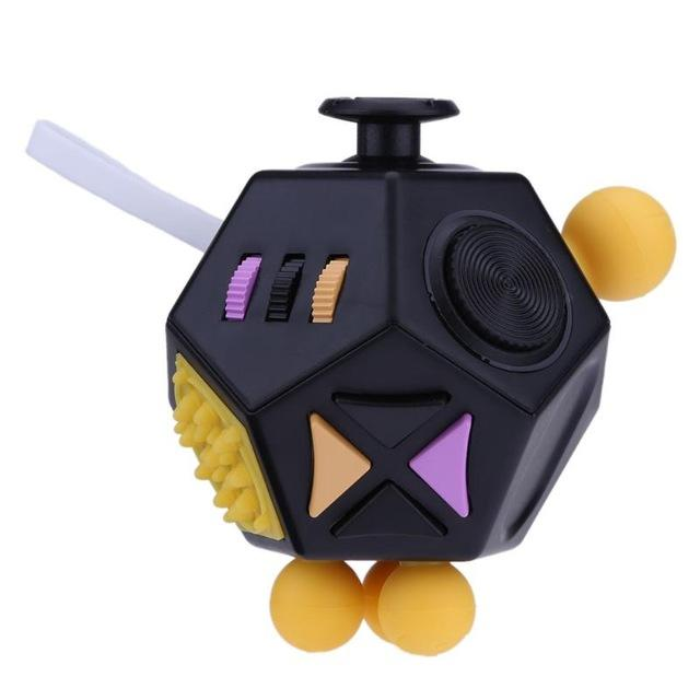 Anti-Stress Fidget Cube 12 Sided - The JfJ