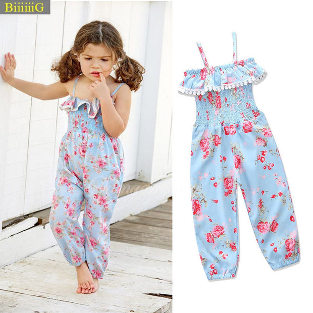 Floral Summer Romper - The JfJ