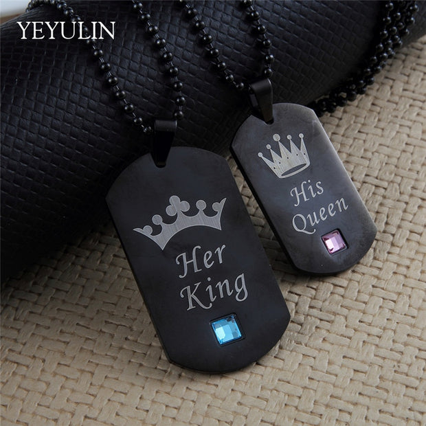 Her King & His Queen Necklace - The JfJ