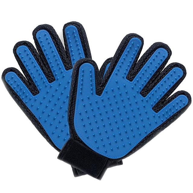 Pet Grooming Deshedding Brush Glove (for Cats/Dogs) - The JfJ