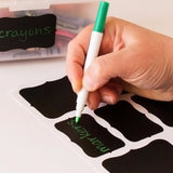 36pcs Blackboard Sticker Black Chalkboard Labels - The JfJ