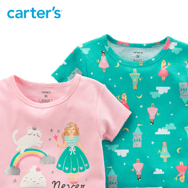 Carter's 4-Piece Summer Pajamas - The JfJ