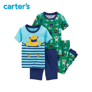 Carter's 4-Piece  Boy Summer Monster PaJamas - The JfJ