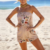 Chiffon Sleeveless Playsuit - The JfJ
