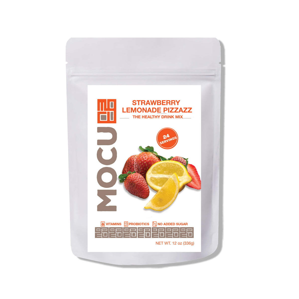 Strawberry Lemonade Probiotic & Whole Food Vitamin Drink Mix - The JfJ