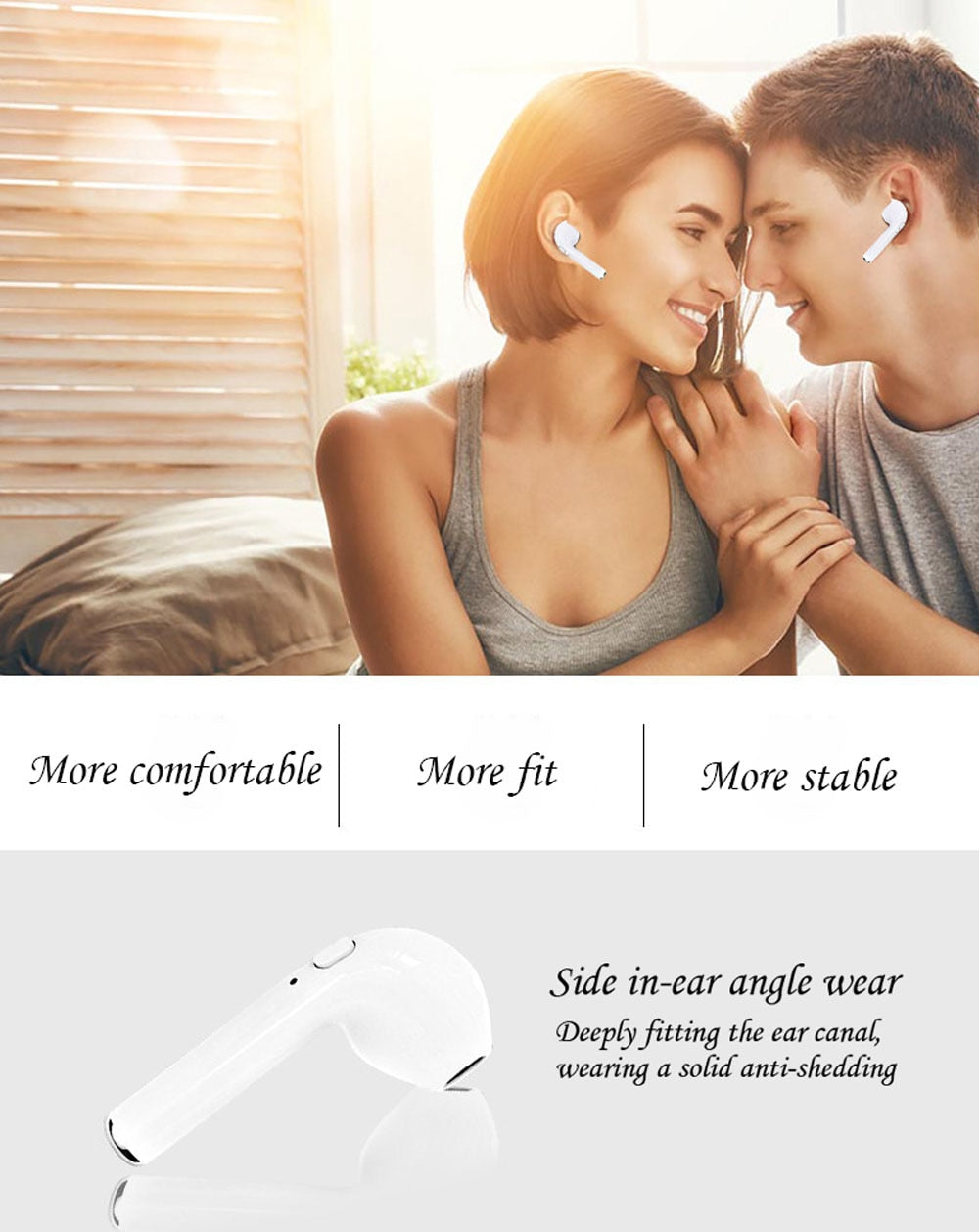 Wireless Bluetooth  In-Ear Earbuds Set - The JfJ